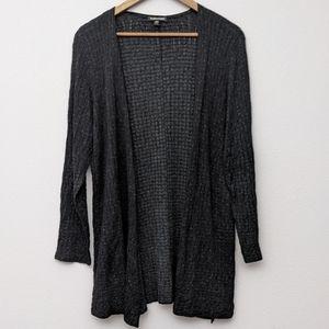 Eileen Fisher Open Cardigan Textured M